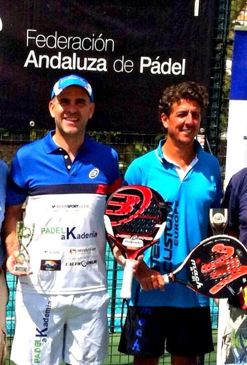 Serrano y Miranda se alzan con la 3ª prueba del Circuito Andaluz de Veteranos