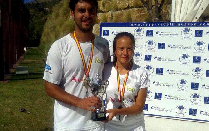 Antonio Luque y Marta Porras, campeón y subcampeona del Campeonato de España de selecciones autonómicas