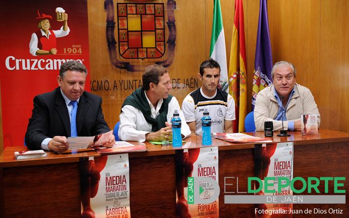 El domingo 27 se celebrará la Media Maratón 'Ciudad de Jaén' Memorial 'Paco Manzaneda'