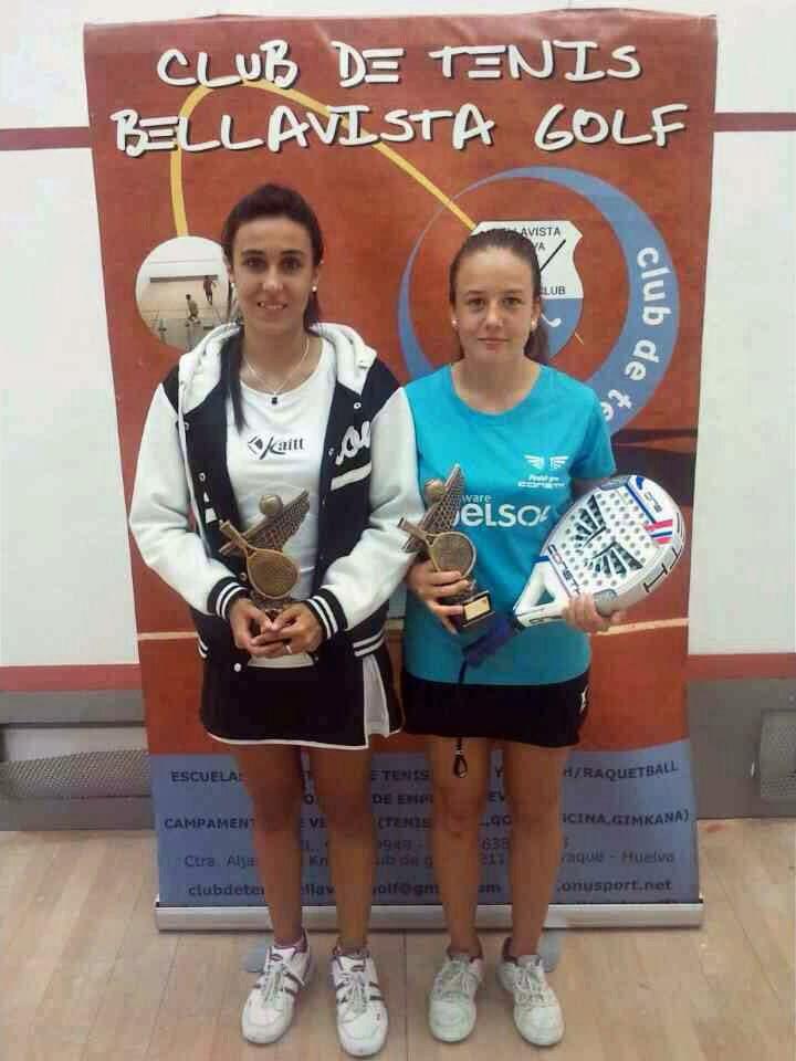 Porras y Marcos, campeonas de Andalucía sub´23