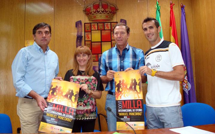 Unos 600 atletas se darán cita en la XXVI Milla internacional de Otoño 'Manuel Pancorbo'