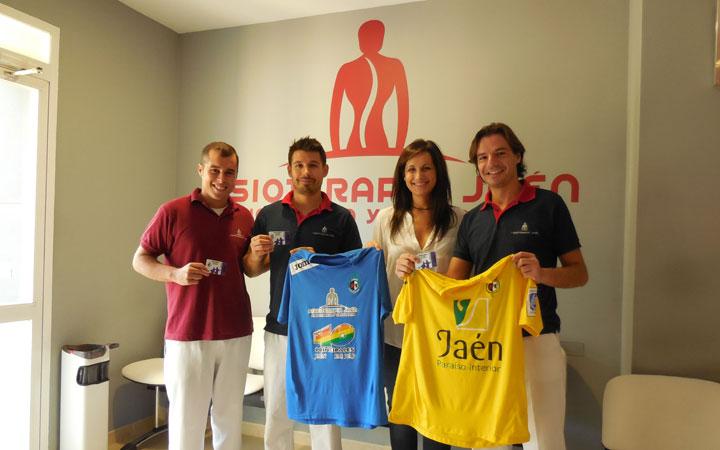 Los jugadores del Jaén Paraíso Interior se tratarán en Fisioterapia Jaén