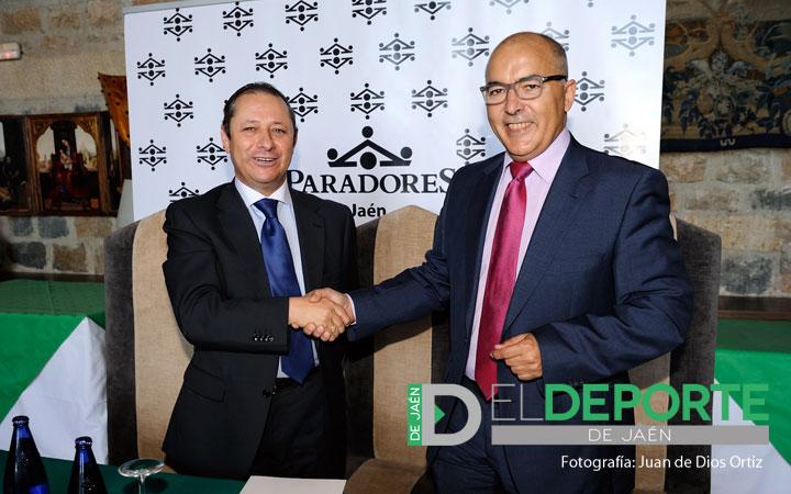Convenio entre el Real Jaén y el Parador