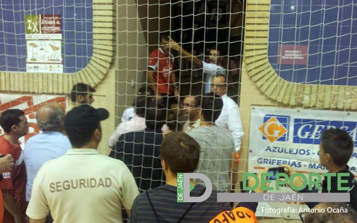El Jaén Paraíso Interior, multado con 100€ por los incidentes del sábado