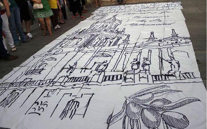 El Jaén-Inter mostrará el tapiz récord guiness de la Catedral