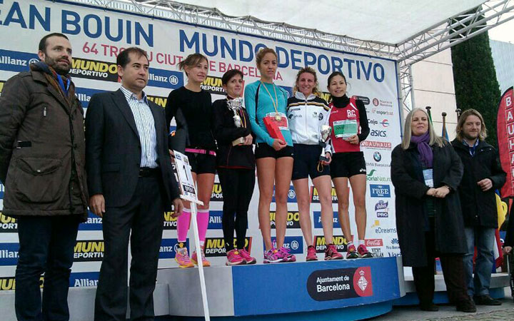 El tercer puesto en Barcelona destaca en la gran jornada del Unicaja Atletismo