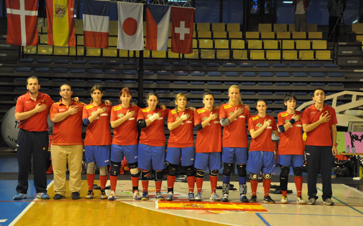 La jiennense Selección Española de Kin-Ball cuarta y quinta en el Mundial de Bélgica