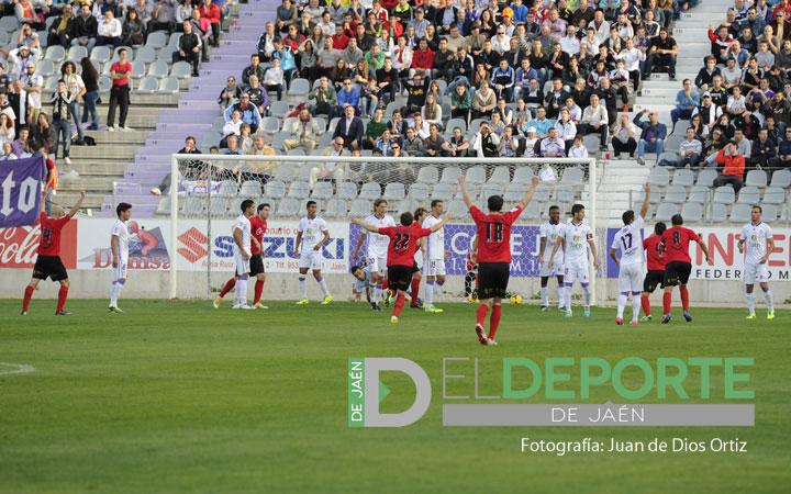 El Real Jaén no puede con el repelente defensivo del Mirandés (la crónica)