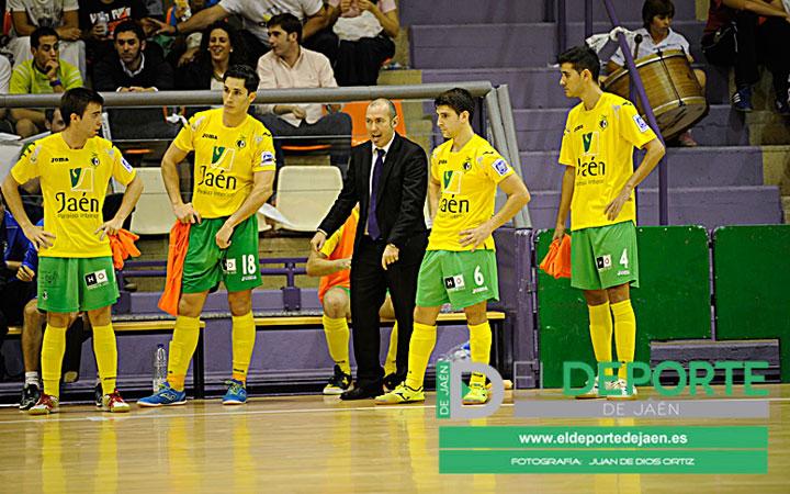 El Jaén Paraíso Interior, eliminado de la Copa