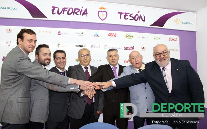 Teruel despeja dudas: «El Real Jaén no se vende»