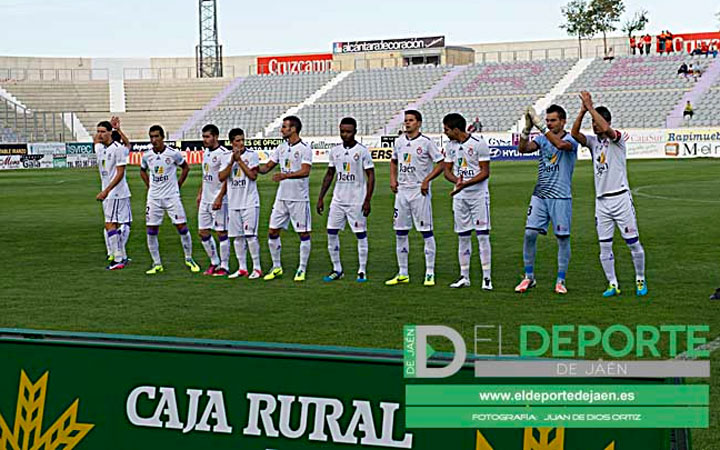 Convocatoria del Real Jaén para Barcelona