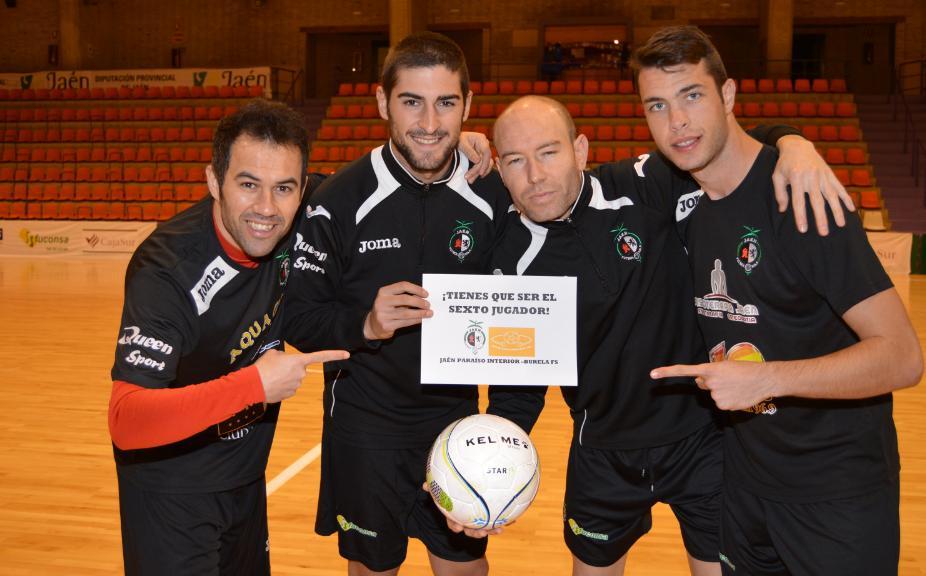 El Jaén Paraíso Interior apela al 'sexto jugador'