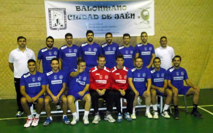 El BM Ciudad de Jaén sigue con el pleno de victorias