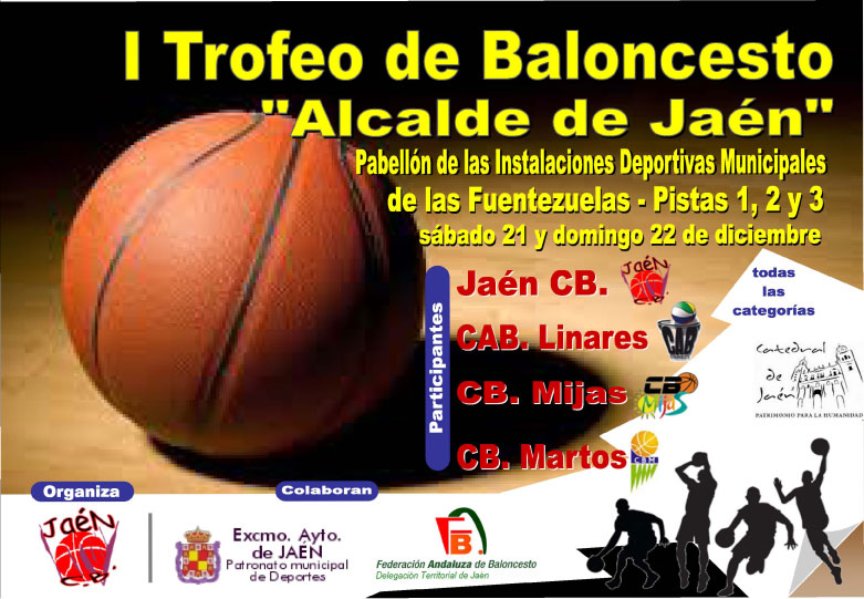 Las Fuentezuelas acogerá el I Trofeo de Baloncesto 'Alcalde de Jaén'