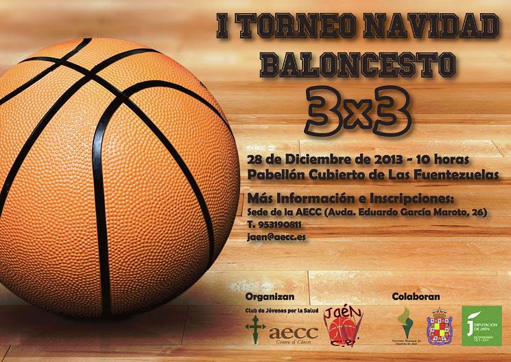 Torneo solidario de baloncesto 3×3