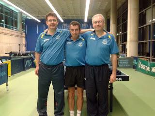 Blas López entra por la puerta grande al Torneo Nacional de tenis de mesa