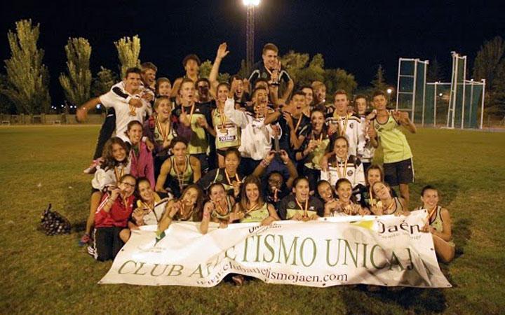 Plata y bronce para el Unicaja Atletismo en el Campeonato Andaluz Cadete