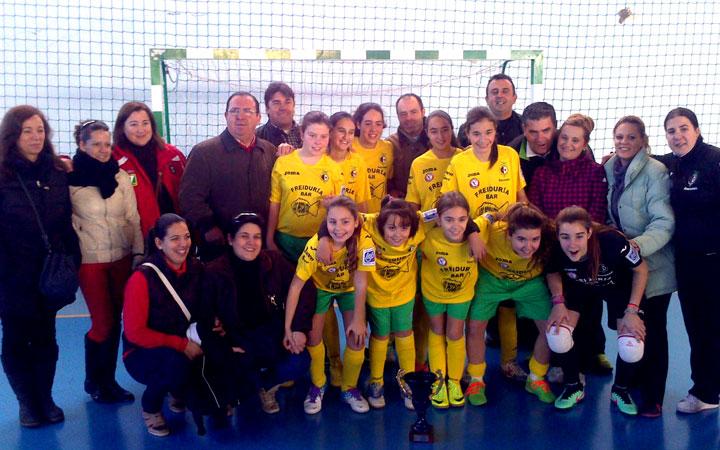 Fuconsa-Vandelvira, campeón provincial de fútbol sala femenino sub-16