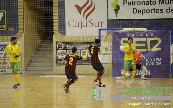 El peso del Barça cae sobre La Salobreja (la crónica)