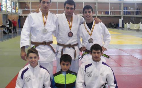 Dos platas y un bronce para Jaén en la Copa de España Cadete de Judo