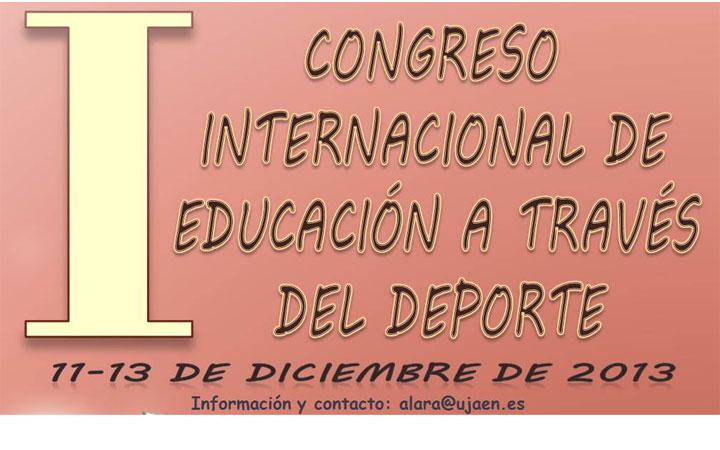 La UJA organiza el I Congreso Internacional de Educación a través del Deporte