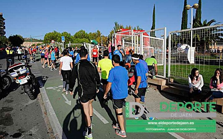 Jaén se prepara para la carrera de la 'Noche de San Antón'