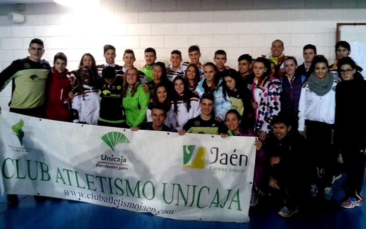 El Unicaja Atletismo, a un paso del podio nacional en Junior