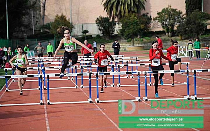 La Salobreja acogió un control de la Delegación Jiennense de Atletismo