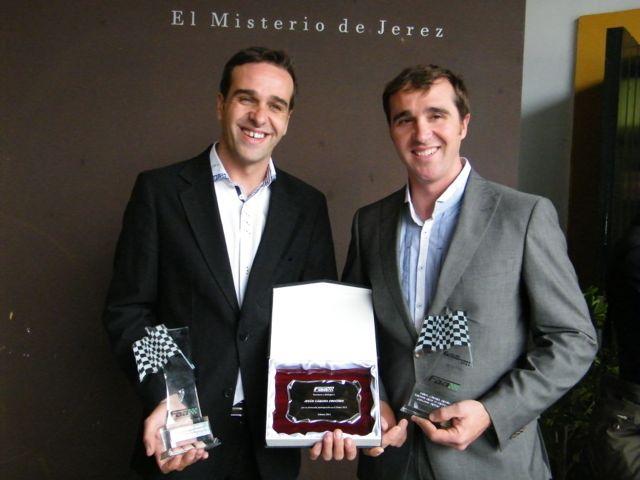 Los hermanos Cámara, galardonados por la Federación Andalucía de Automovilismo