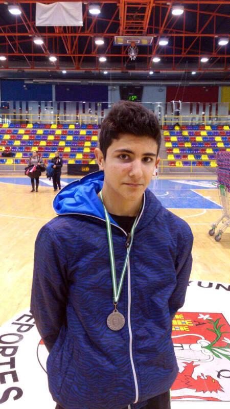 José Jódar se proclama subcampeón del Campeonato Andaluz de Taekwondo