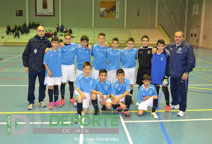 Jaén se corona como campeona de Andalucía de fútbol sala en categoría alevín