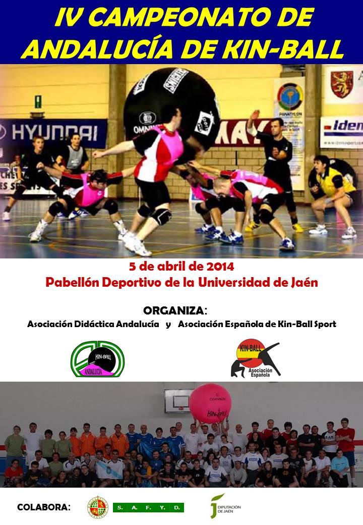 La UJA acoge este sábado el IV Campeonato de Andalucía de Kin-Ball