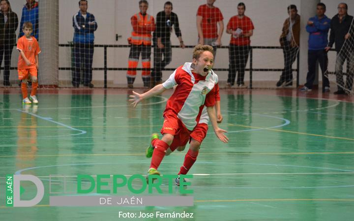 La selección benjamín de Almería, campeona de Andalucía de fútbol sala