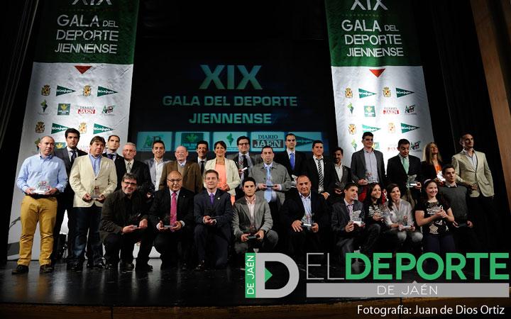 La Gala del Deporte Jiennense reconoce a los deportistas del año
