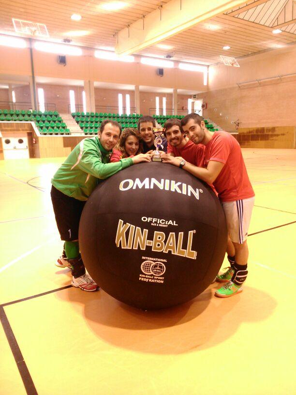 El Kin-Ball andaluz lució en la capital jiennense