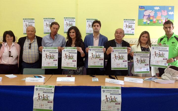 La carrera 'Escuela Solidaria' se celebrará el 1 de junio