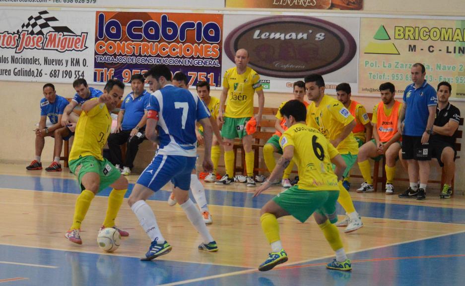 El Jaén FS vence al Linares Atlético en un amistoso
