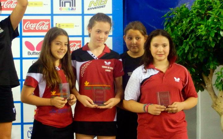 Marina Lorente, bronce en el Campeonato de España de Tenis de Mesa