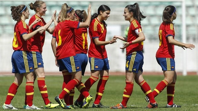 Celia Jiménez jugará la semifinal del Europeo sub19 con la selección española