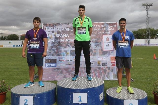 Los juveniles del Unicaja Atletismo, segundos en el Campeonato de España