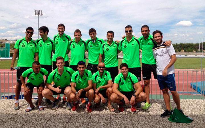 El equipo masculino del Unicaja consigue la séptima posición nacional