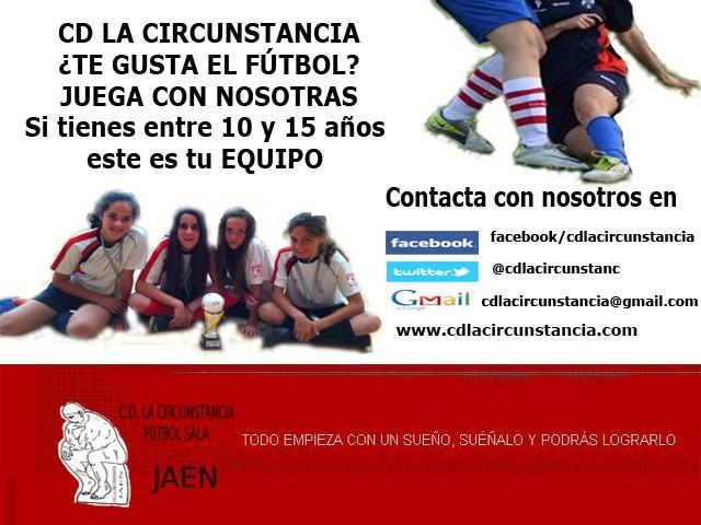 El CD La Circunstancia lanza su campaña de captación de jugadoras