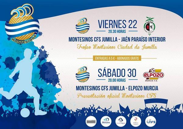 El Jaén FS jugará el Trofeo Montesinos Ciudad de Jumilla
