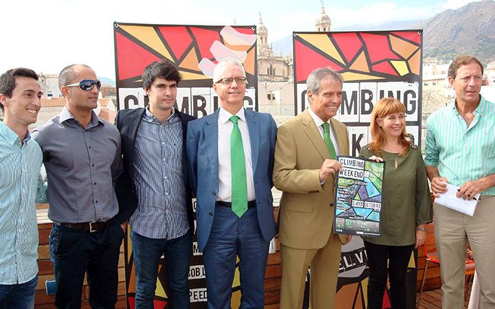 El II Climbing Weekend 'Ciudad de Jaén' reunirá a más de 180 escaladores