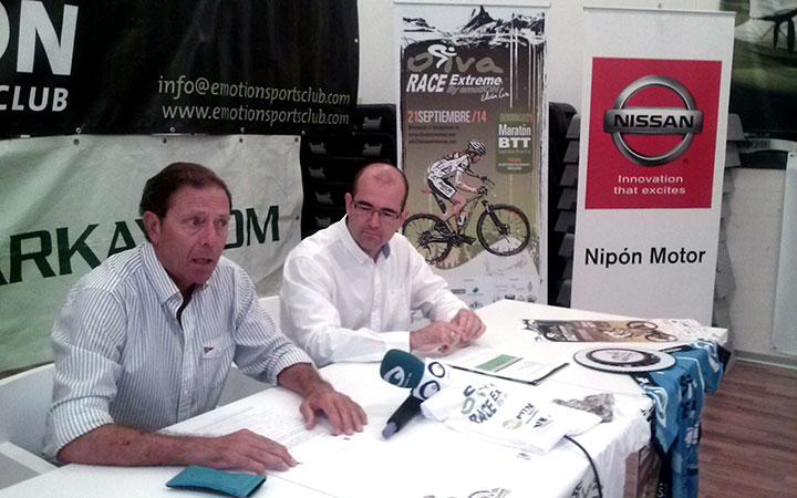 La 'Oliva Xtreme by Emotion' congregará a unos 200 ciclistas