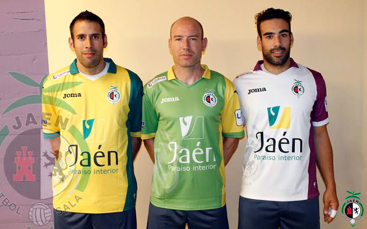José López, Alfonso Prieto y Fabián Robledo, capitanes del Jaén FS