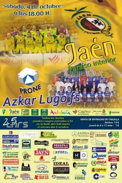 El Jaén FS se marca como objetivo llenar La Salobreja este sábado