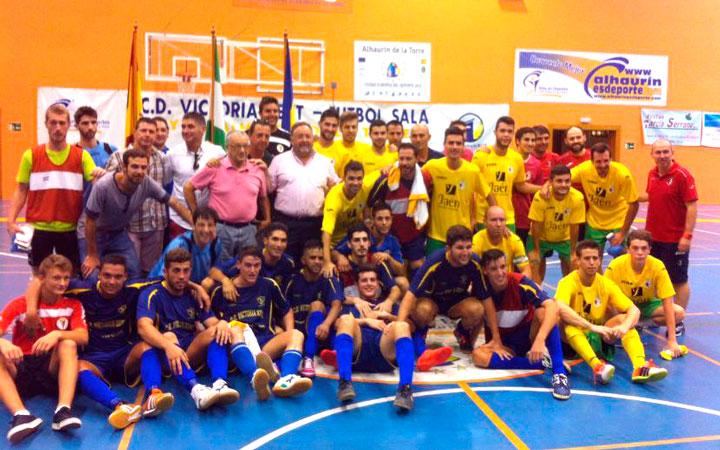 Triunfo del Jaén FS en el I Torneo de Fútbol Sala Andaluz