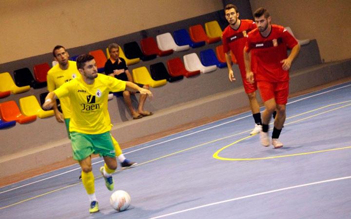 El Jaén FS golea en el amistoso de Rus por 1-11