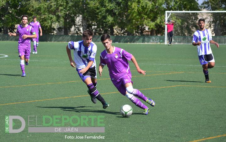 El Real Jaén Juvenil de Liga Nacional suma su tercera victoria fuera de casa